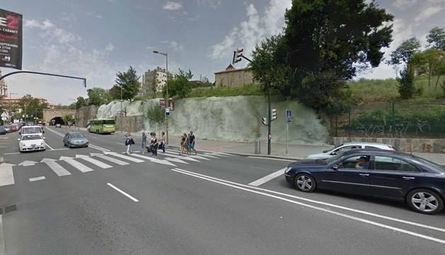 Foto de la Avenida Zumalacarregi de Bilbao.