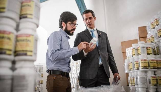 Guaidó ayuda a entregar 85.000 suplementos nutricionales para niños y embarazadas de Venezuela.