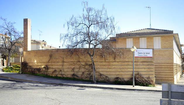 Imagen del centro de salud de Olite.