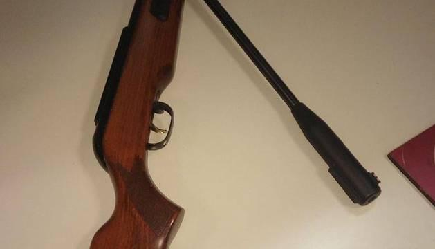 Denunciado en Pamplona por cazar especies protegidas con una carabina