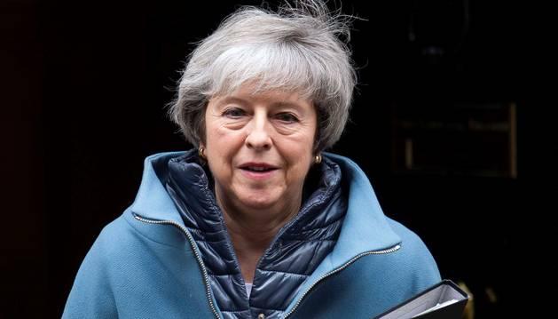 Foto de la primera ministra británica, Theresa May.