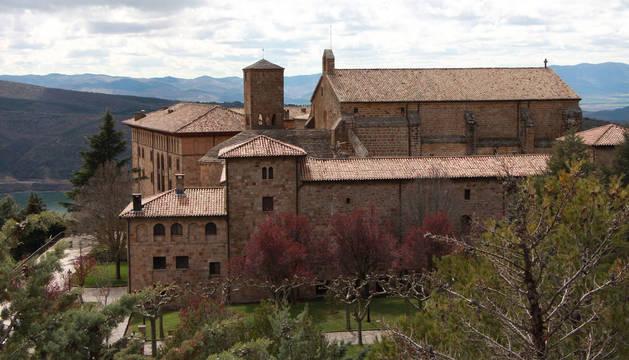 El monasterio de San Salvador de Leyre.