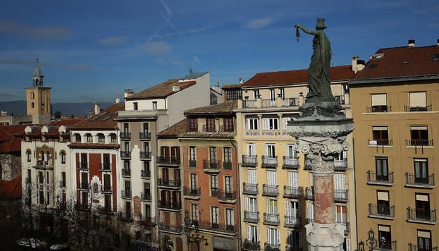 foto de Este jueves será un día soleado en Pamplona, con temperaturas máximas que rondarán los 11/16 grados