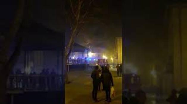 Incendio en una vivienda de Alsasua