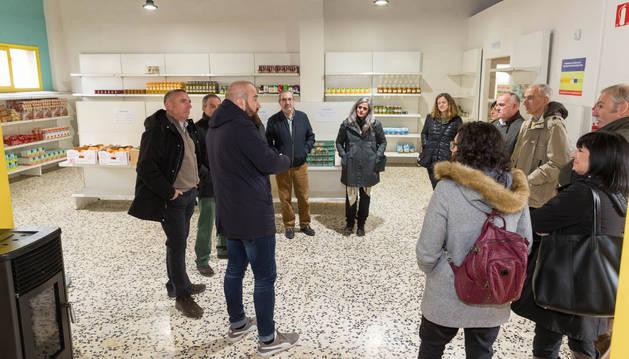 Asistentes a la inauguración del Capacico, que se puso en marcha en noviembre del año pasado.