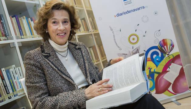 Julia Navarro en el Club de Lectura de Diario de Navarra