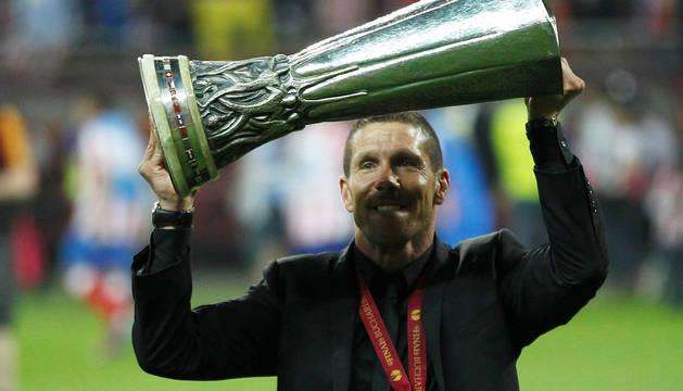 El 'Cholo' Simeone será atlético hasta 2022