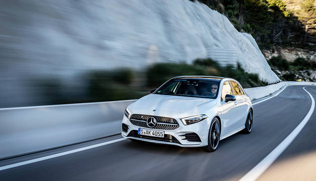 El Mercedes-Benz Clase A luce en esta nueva edición una silueta más afilada. Lo mejor se encuentro dentro, donde el salto tecnológico es realmente llamativo.