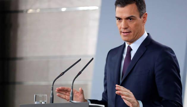 Sánchez convoca elecciones para el 28 de abril