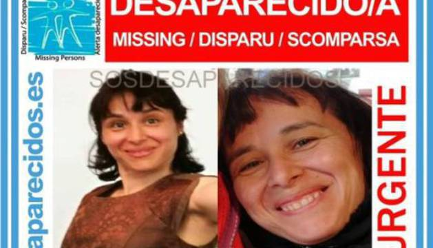 La mujer desaparecida en Madrid