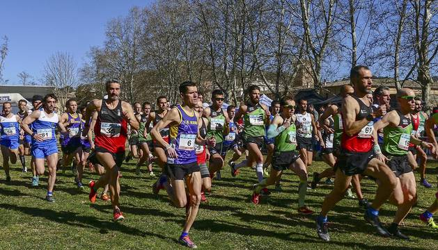 Campeonato Navaro de Cross en categoría máster