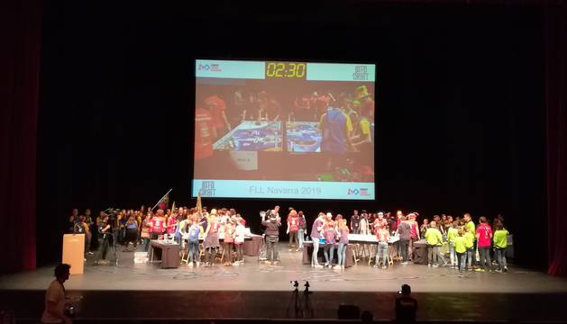 La First Lego League Navarra reúne a 16 equipos
