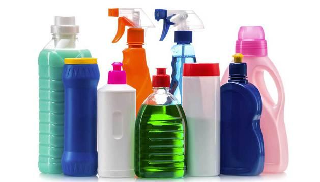 Productos de limpieza del hogar.
