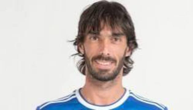 Carlos Martínez, jugador navarro del Oviedo.