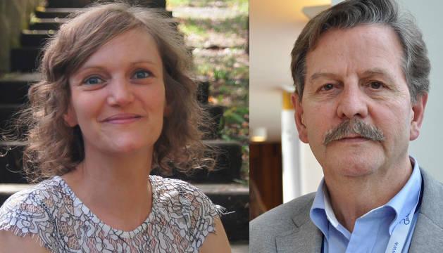 La sexóloga y psicoterapeuta Alexandra Crettaz y el urólogo y andrólogo José Luis Arrondo.