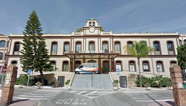Hospital Civil de Málaga.