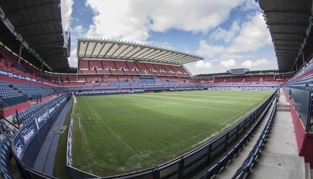 Una vista general del estadio de El Sadar a comienzos de esta temporada.
