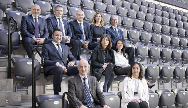 Líderes empresariales de 2018 en Navarra.