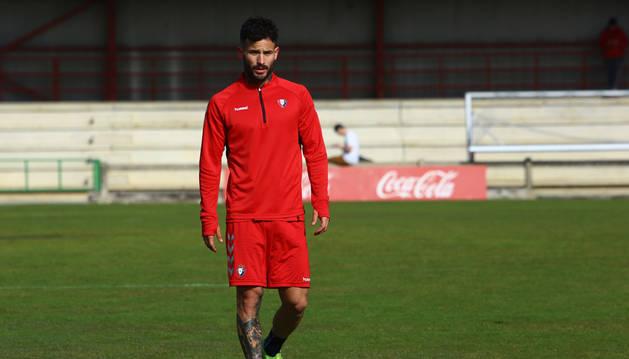 Rubén García no está descartado en Osasuna para el sábado