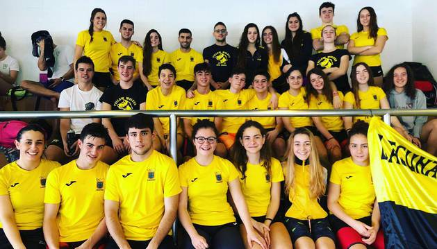 Lagunak conquista la tercera plaza en el Campeonato Navarro absoluto de invierno