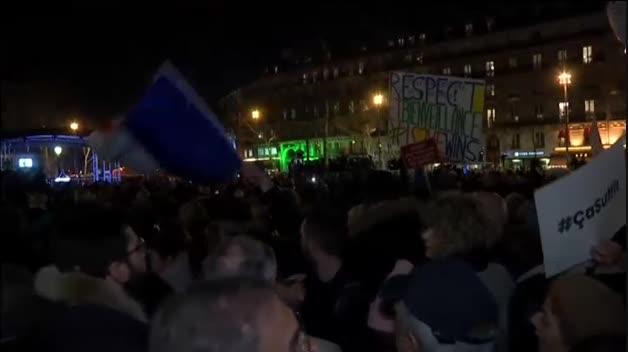 Francia se moviliza contra el antisemitismo
