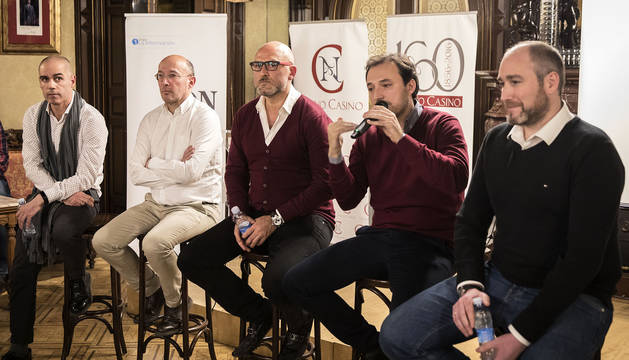Los representantes de los cinco proyectos, durante el foro DN en Vivo.