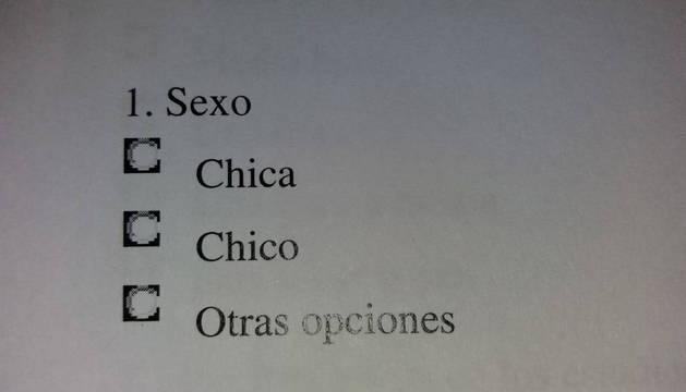 foto de La primera pregunta del cuestionario para alumnos de 9 años