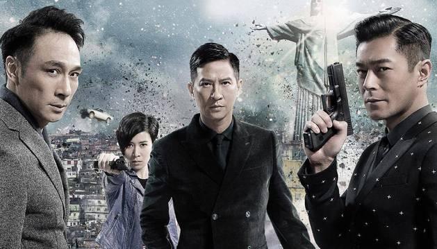 Una imagen promocional de 'Line Walker', la película que se estrenó en China en 2016.