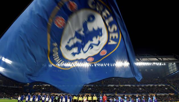 El Chelsea y el Malmoe, antes de enfrentarse en Stamford Bridge.