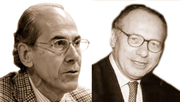 Antonio Purroy y François Zumbiehl.