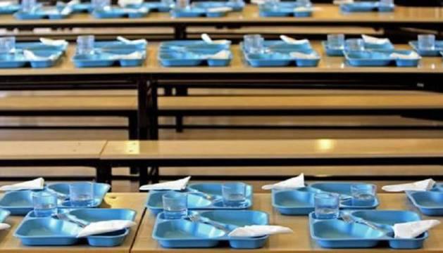 Los menús escolares cada vez incorporan más verduras