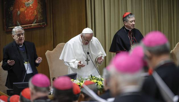 El Papa, en la sesión de este viernes