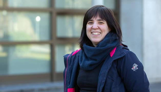 La ingeniera en Telecomunicación e investigadora de la UPNA y de Navarrabiomed Carmen Vidaurre Arbizu.
