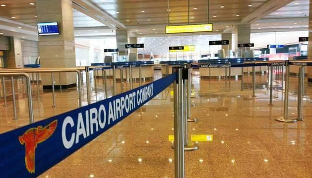 Imagen del aeropuerto de El Cairo.