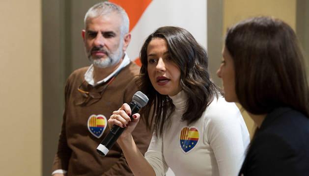 foto de Inés Arrimadas, líder de Ciudadanos en Cataluña
