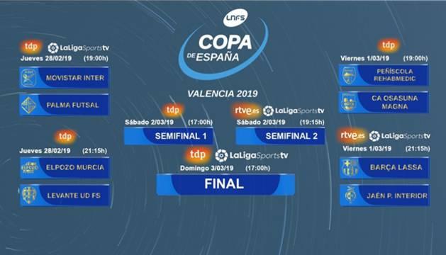 Semana grande para el Osasuna Magna con la disputa de la Copa de España