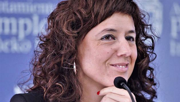 Patricia Perales, concejal de Bildu en Pamplona.