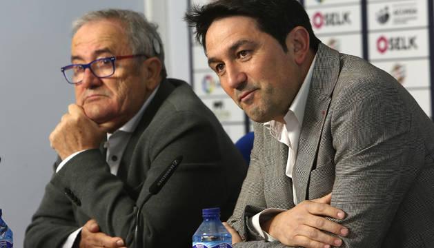 Luis Sabalza y Braulio Vázquez.