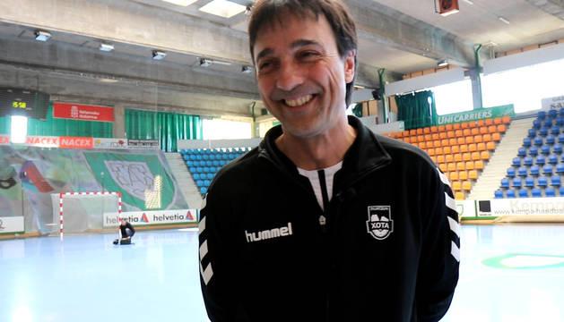 Entrevista a Imanol Arregui, entrenador de Osasuna Magna