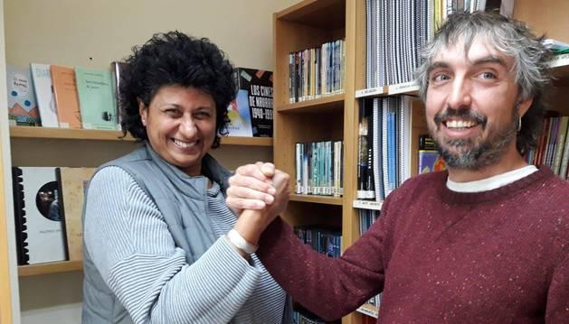 Adelaida Urquizo Sádaba y Javier Martínez Elvira.