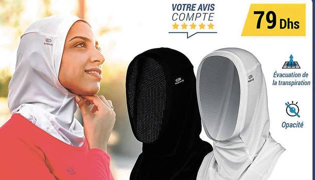 Decathlon da marcha atrás con el 'hiyab' deportivo