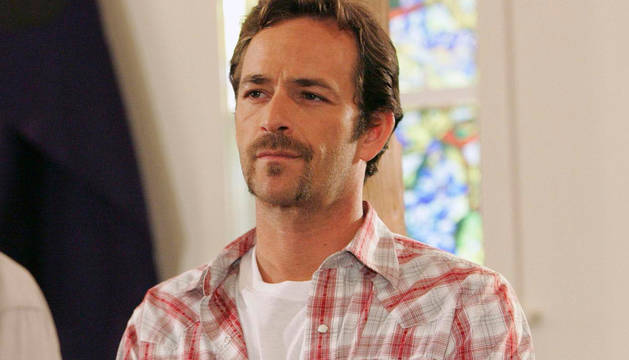 El actor Luke Perry, en 2009.