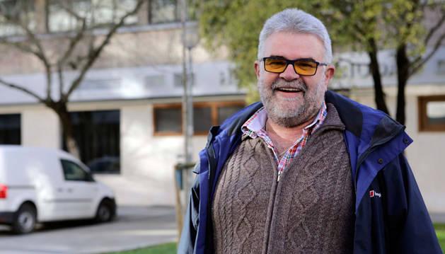 Juan Ignacio Larumbe Lizarraga, vendedor de la ONCE.