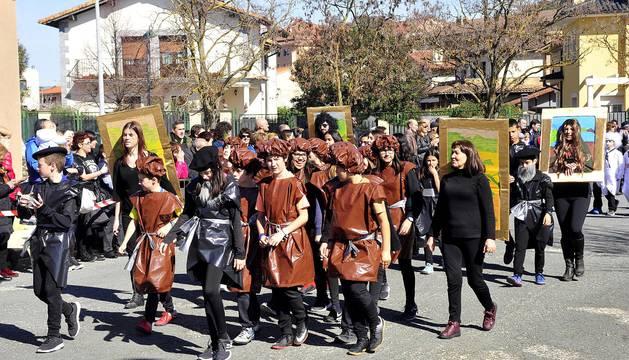 Carnaval escolar en Tafalla 2019
