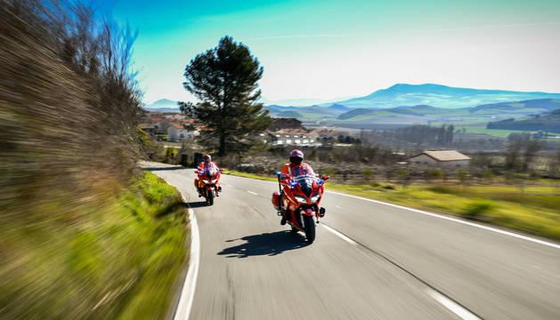 Imputados dos conductores en Navarra por circular a más de 200 km/h