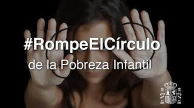 El Gobierno presenta #RompeElCírculo una campaña para concienciar sobre la pobreza infantil