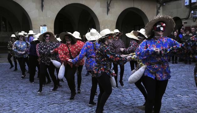 Fotos de la jornada de carnaval del sábado en Olite
