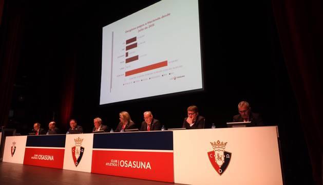 Asamblea de Osasuna sobre la reforma de El Sadar