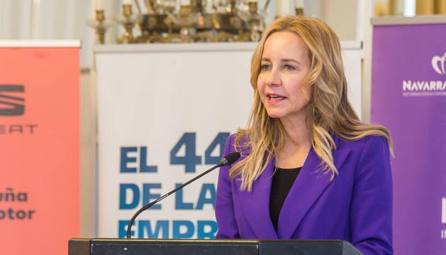 foto de La presidenta de la Federación Española de Mujeres Directivas, Ejecutivas, Profesionales y Empresarias (FEDEPE), Ana Bujaldón