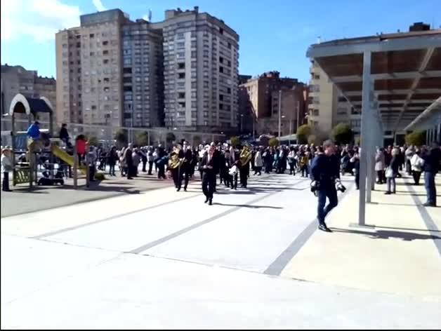 Inauguración de la plaza de La Pamplonesa